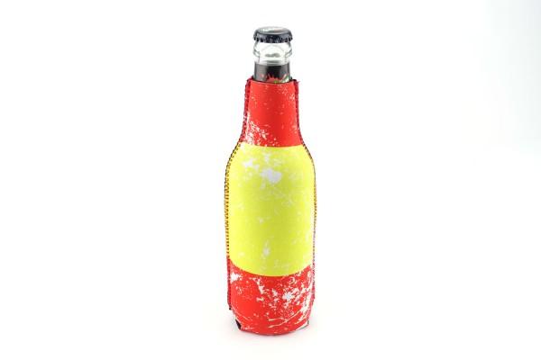 Neopren Flaschenkühler Spanien Weiß