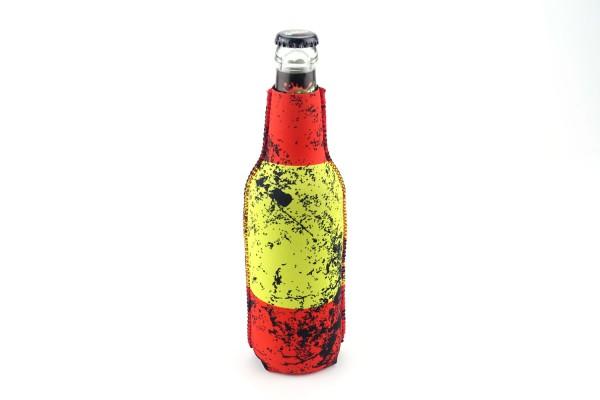 Neopren Flaschenkühler Spanien Schwarz