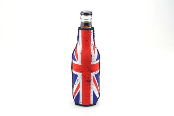 Neopren Flaschenkühler UK Schwarz