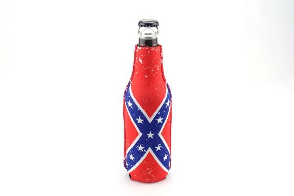 Neopren Flaschenkühler Dixie Vintage Weiß